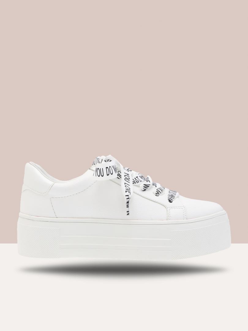 hvit sko