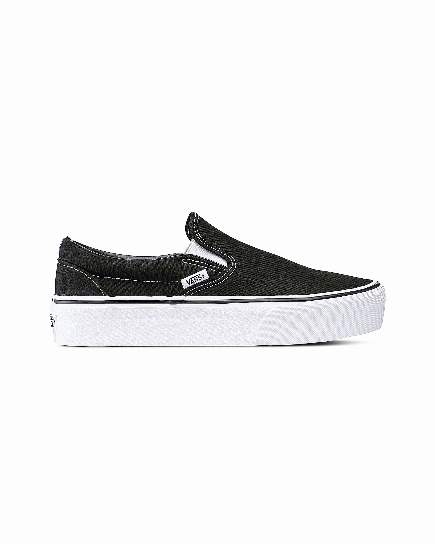 Vans - Classic Slip-On Platform Black 37